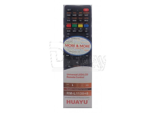 Пульт Д/У HUAYU для LCD TV RM-L1130+8 универсальный
