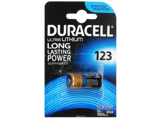 Duracell CR123A ULTRA BP1