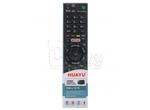 Пульт Д/У HUAYU для Sony RM-L1275 универсальный