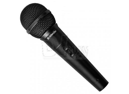 Микрофон Defender MIC-130 (5 м) черный