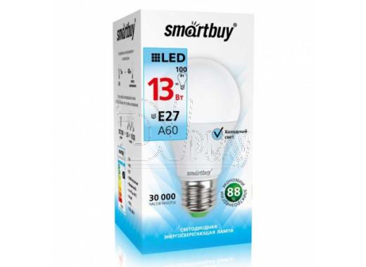 Светодиодная Лампа Smartbuy A60 (Е27, 13Вт, белый свет)