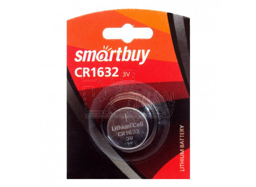 Элемент питания Smartbuy CR1632