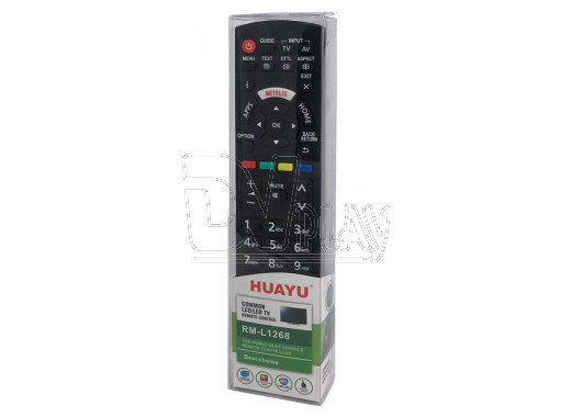 Пульт Д/У HUAYU для Panasonic RM-L1268 (c кнопкой Netflix)