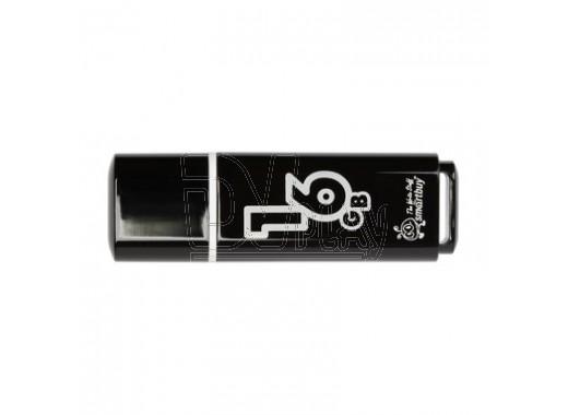 USB Flash 16Gb Smart Buy Glossy черная