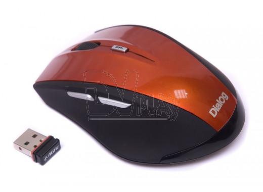 Мышь Dialog Katana MROK-17U оранжевая