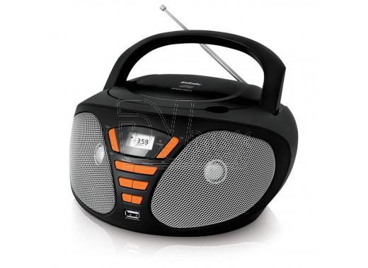 Магнитола BBK BX180U черно-оранжевая