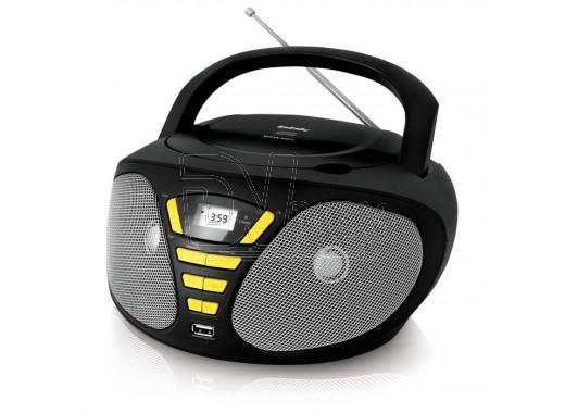 Магнитола BBK BX180U черно-желтая