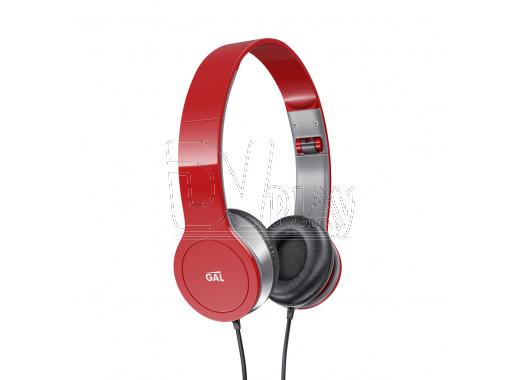 Наушники GAL SLR-180rd красные