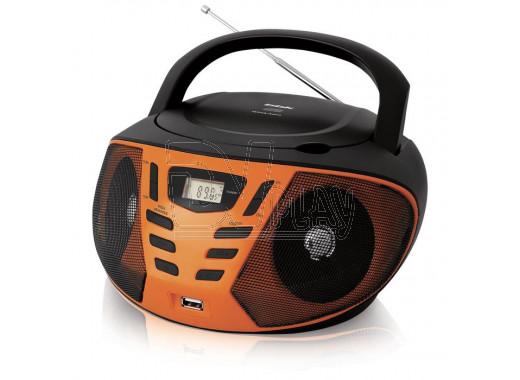 Магнитола BBK BX193U черно-оранжевая
