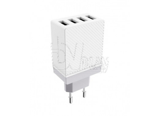 Зарядное устройство 4 USB 3.4A Hoco. C23B