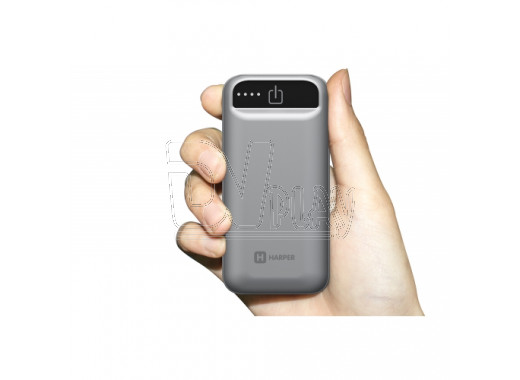 Power bank HARPER PB-2605 (5 000 mAh) серый