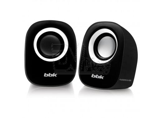 BBK CA-303S черный/белый акустика 2.0