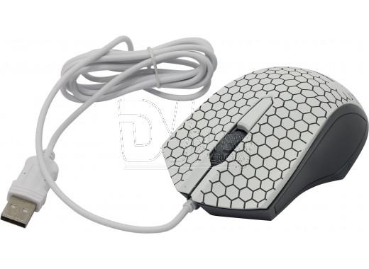 Мышь Smartbuy 334 USB белая с подсветкой