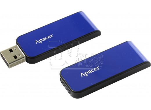 USB Flash 16Gb Apacer AH334 синяя