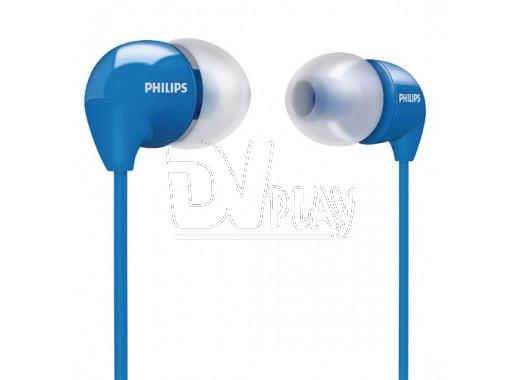 Наушники Philips SHE 3590 голубые