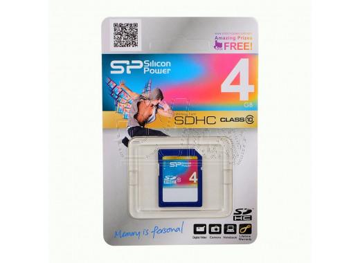 SDHC 4Gb Silicon Power Class 10