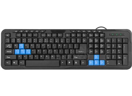 Клавиатура Defender HM-430 черная
