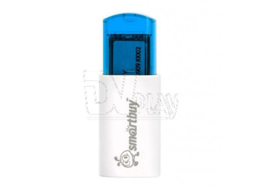 USB Flash 4Gb Smart Buy Click синяя