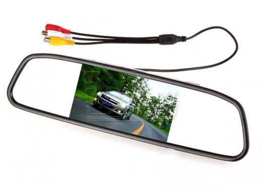 Зеркало заднего вида с монитором 5'' HS-5S/CX500