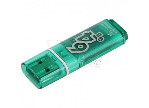 USB Flash 64Gb Smart Buy Glossy зеленая