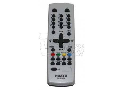 Пульт Д/У HUAYU для Daewoo RM-675DC универсальный