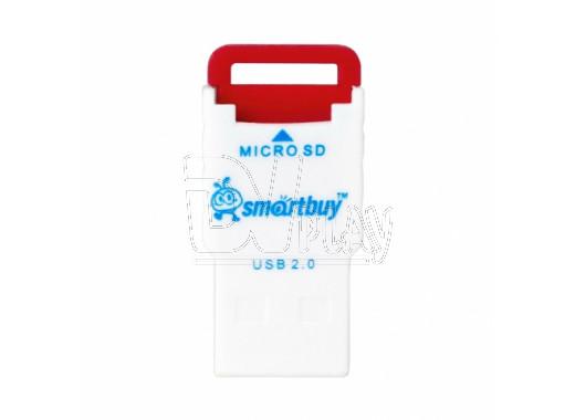 CARD READER microSD Smartbuy SBR-707 красный