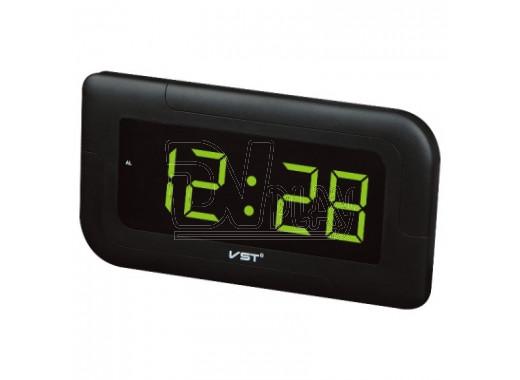 Часы электронные VST 739-4 настенные ярко-зеленый