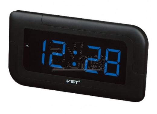 Часы электронные VST 739-5 настенные ярко-синий