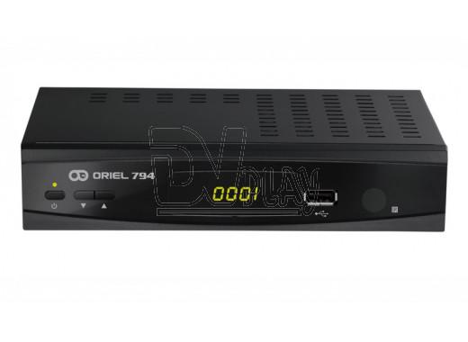 Oriel 794 ресивер DVB-T2 с дисплеем