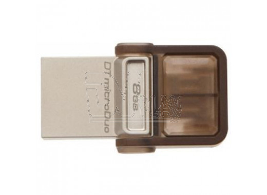 USB - microUSB 8Gb Kingston DTDUO