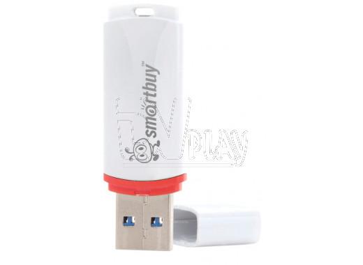 USB Flash 8Gb Smart Buy Crown белая
