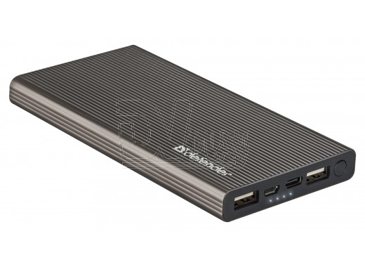 Power bank Defender ExtraLife Fast (10 000 mAh, Lit-pol, Type-C)