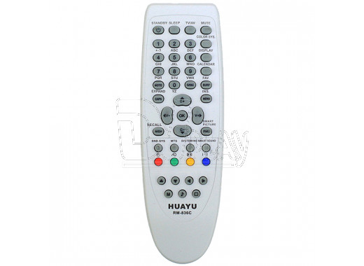 Пульт Д/У HUAYU для Philips RM-836C