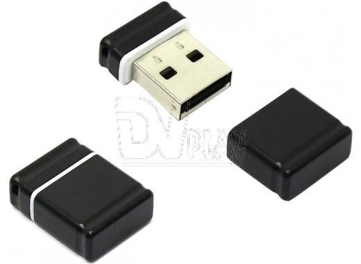 USB Flash 8Gb Qumo Nano черная