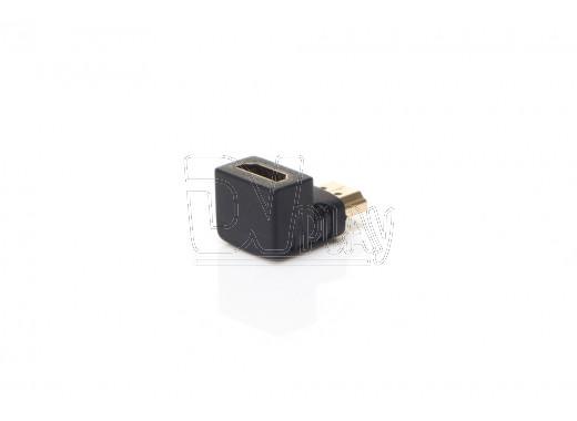 Переходник угловой HDMI (M) - HDMI (F) OLTO CHM-90