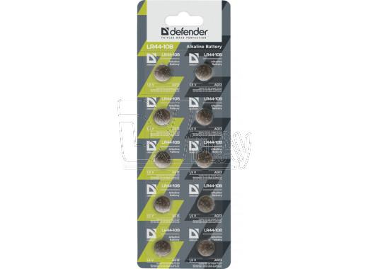 Элемент питания Defender AG13 BL10 упаковка 10шт