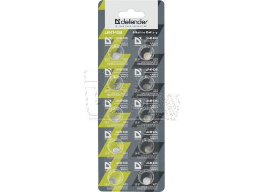 Элемент питания Defender AG3 BL10 упаковка 10шт