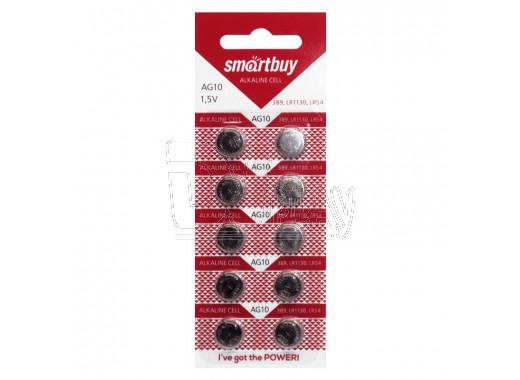 Элемент питания Smartbuy AG10 BL10 упаковка 10шт