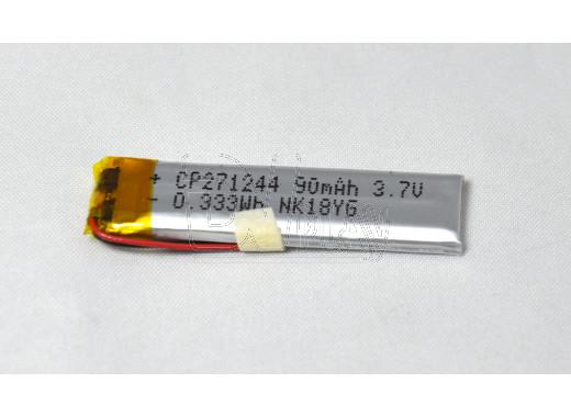 Аккумулятор Li-Ion 90 mAh 1,2*4,4