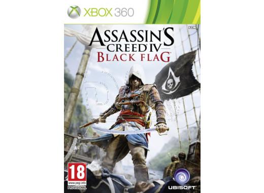 Assassin's Creed 4 Черный флаг (русская версия) (XBOX 360)
