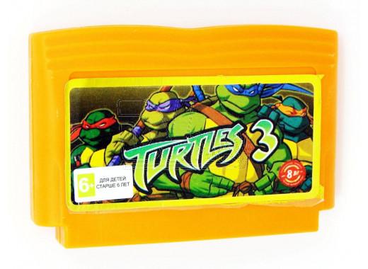Turtles 3 (русская версия) (8 bit)