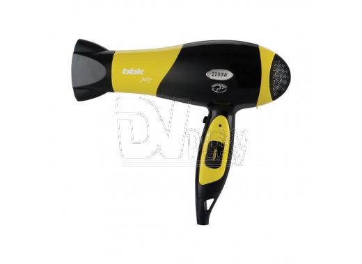 Фен BBK BHD3225i черный/желтый