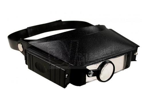 Бинокулярные очки Magnifier Head Strap W/Lights MG-81007
