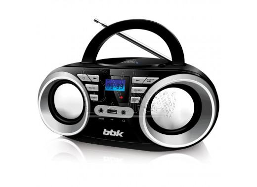 Магнитола BBK BX160BT черный металлик (Bluetooth)