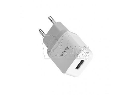 Зарядное устройство USB 2.4A Hoco. C22A