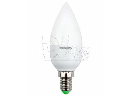 Светодиодная Лампа Smartbuy C37 (Е14, 5Вт, теплый свет)