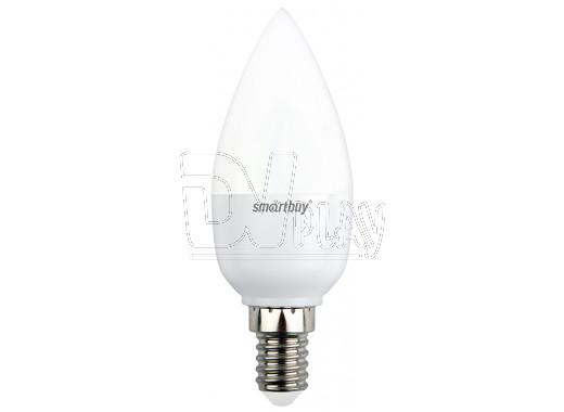 Светодиодная Лампа Smartbuy C37 Е14 8,5Вт холодный дневной свет
