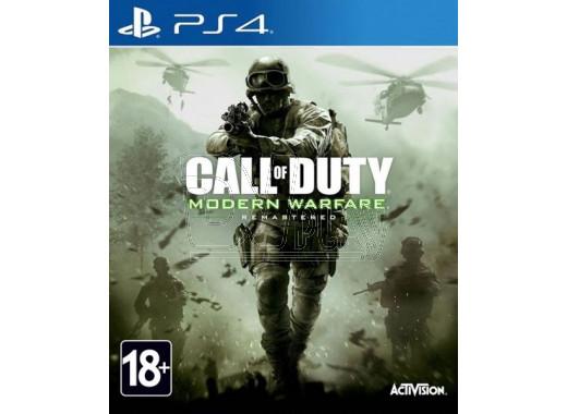 Call of Duty: Modern Warfare Remastered (русская версия) (PS4)