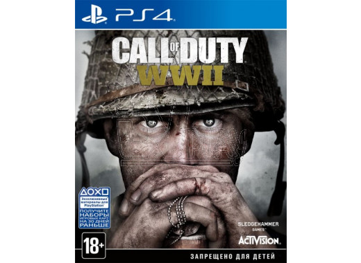 Call of Duty: WWII (русская версия) (PS4)