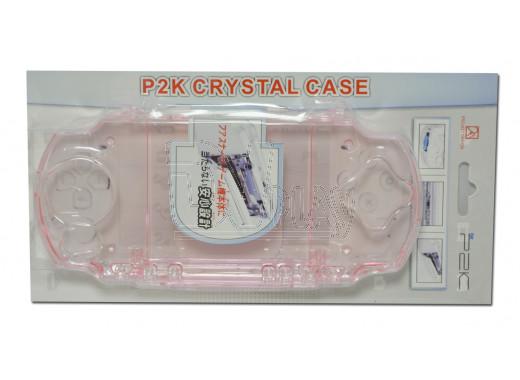 PSP Slim  ЧЕХОЛ пластиковый прозрачный Crystal Case iQu